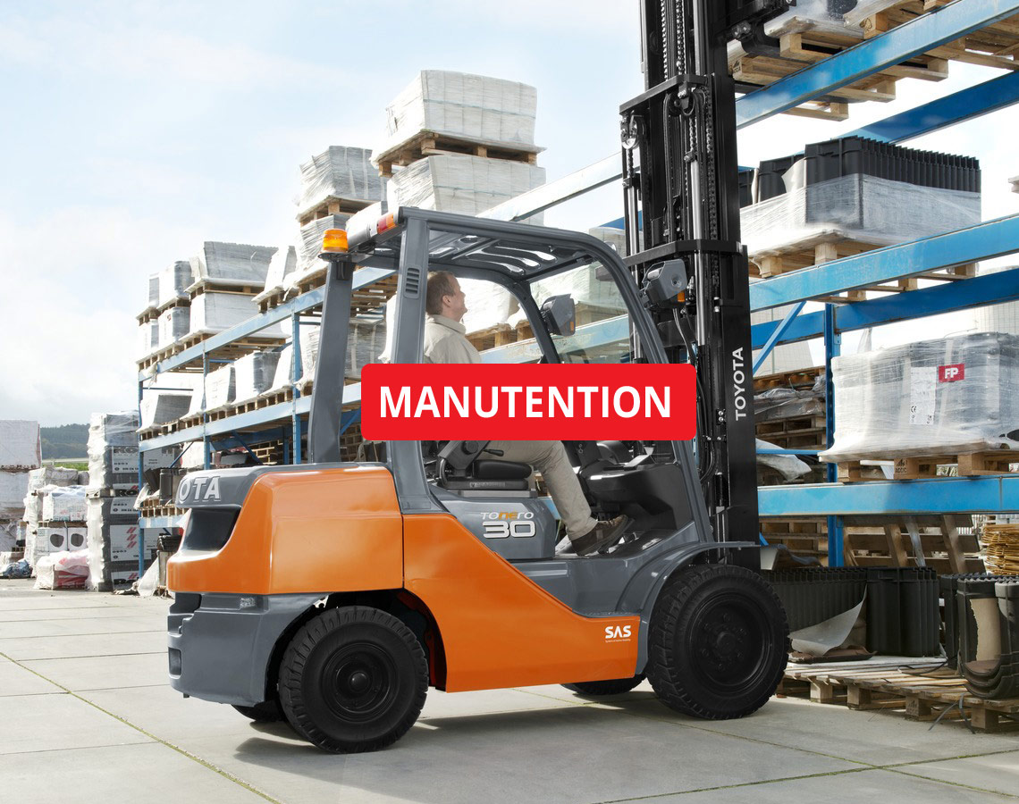 vente de matériels de manutention